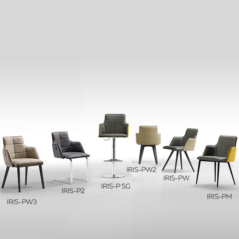 sedie di design Iris