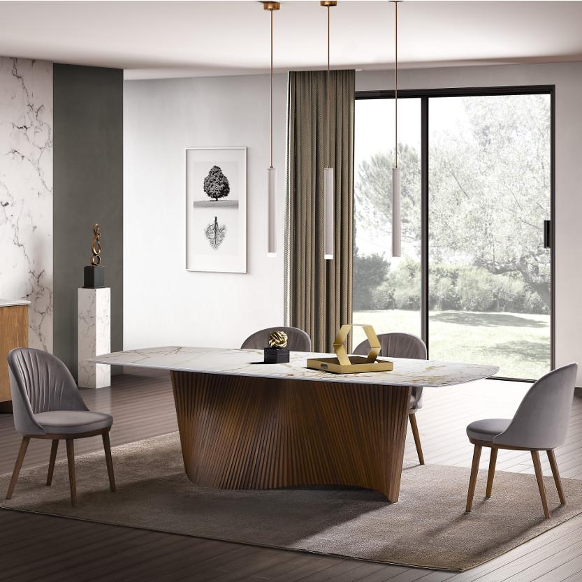 tavolo living moderno di design orbit natisa