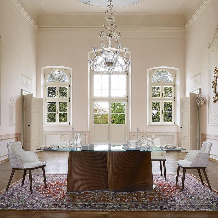 tavolo moderno di design Petal & Iris-PW3