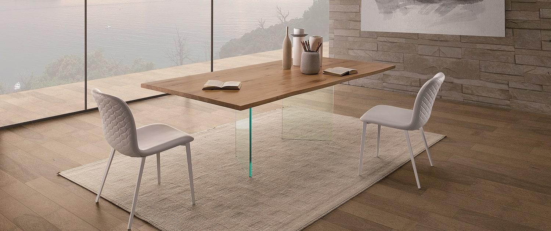 Tavoli moderni e sedie moderne di design by natisa for Sedie salone moderne