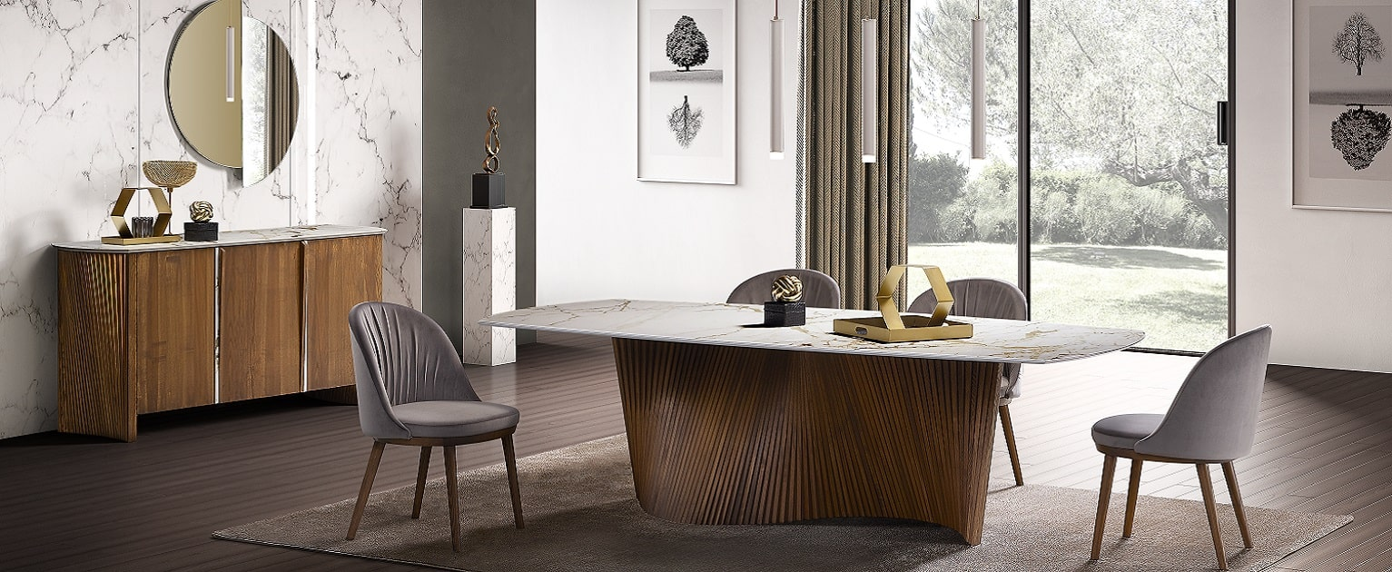 Sedie E Tavoli Manzano tavoli moderni e sedie moderne di design by natisa