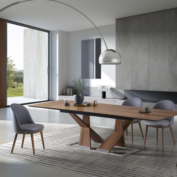 tavolo moderno di design Ankor & Lois-W3