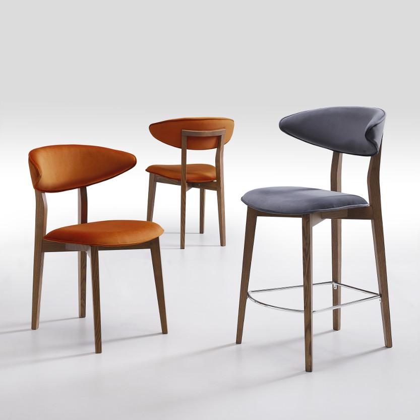 sedia design cucina modello flare