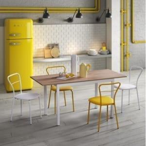 sedia design cucina modello koda natisa