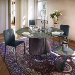 tavolo moderno di design Clover & Sunrise